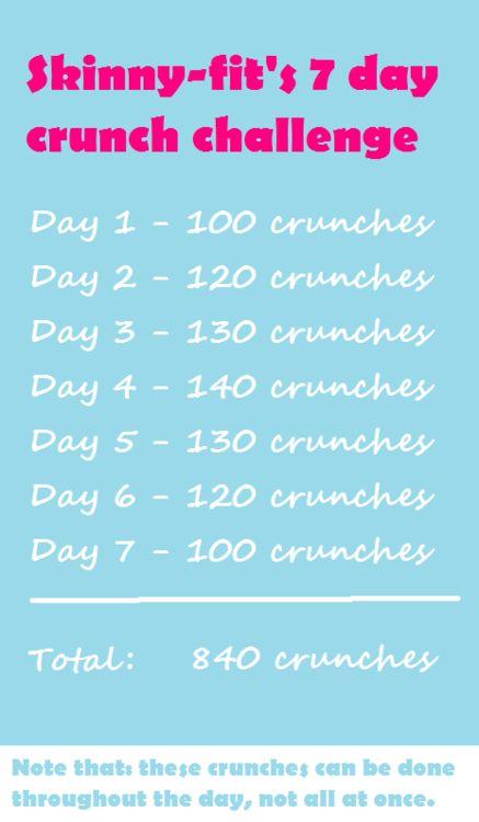 30 day crunch challenge calendar pdf