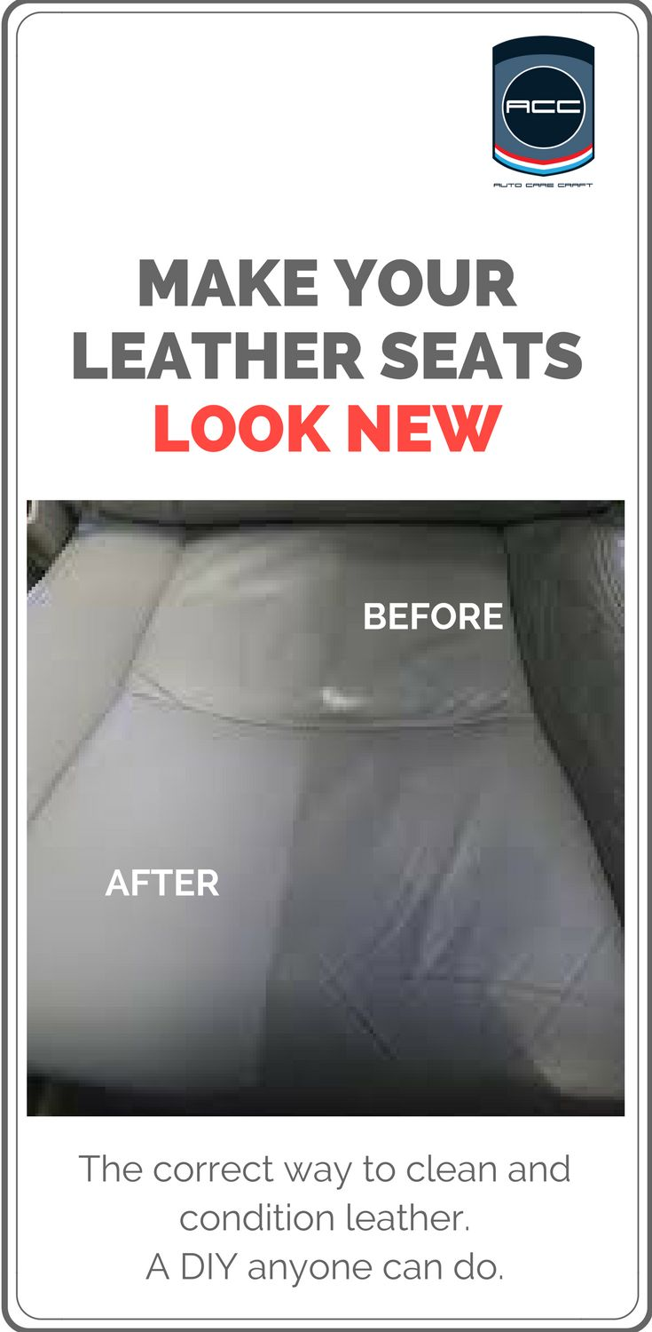 How to clean leather seats.  Get professional results and save money with this cleaner and conditioner in the link.