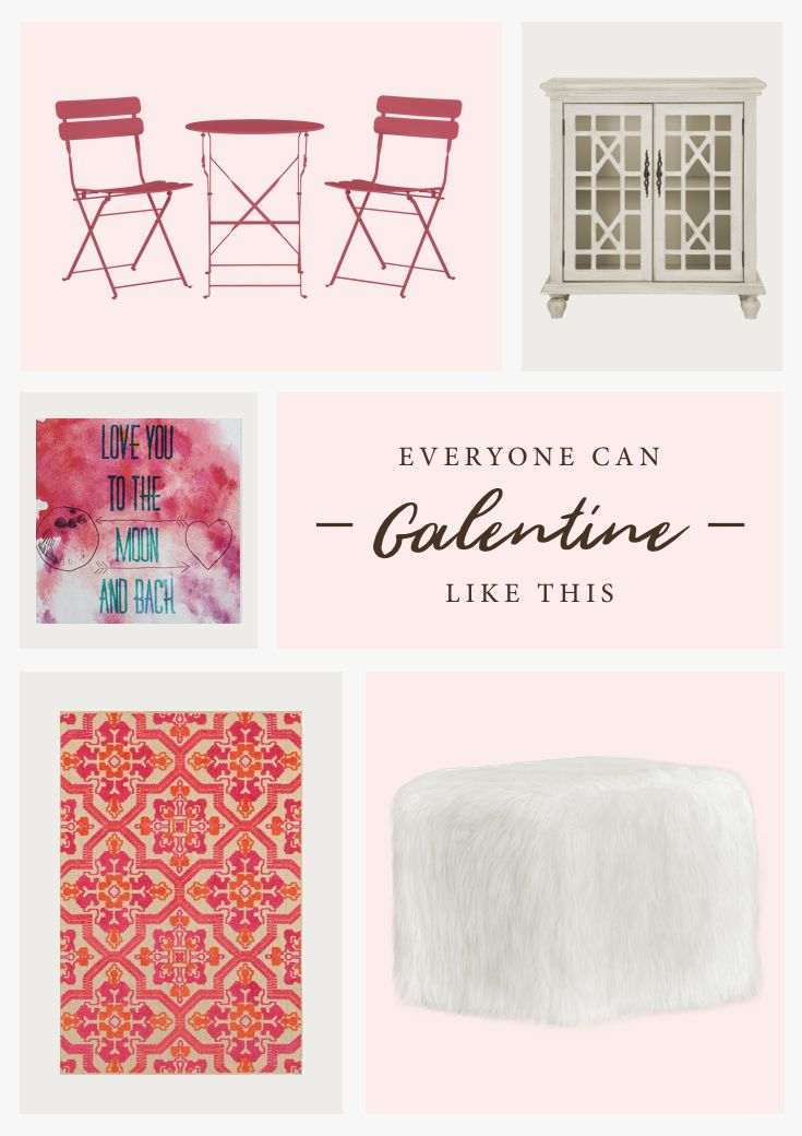 Move over, Cupid! This year, we're celebrating Galentine's Day. Just grab your gals and set the scene with pink seating, girly accents, and storage to hold the wine.