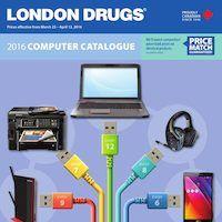 London Drugs - 2016 Computer Catalogue Flyer