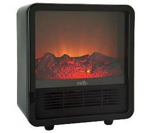 Duraflame Small Portable Heater With Realistic Flame Effect