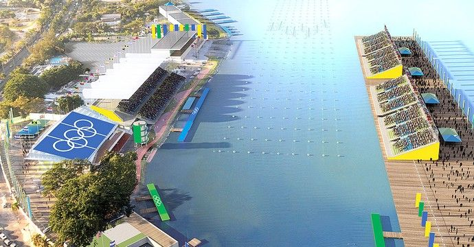 Rowing venue for Rio Olympics