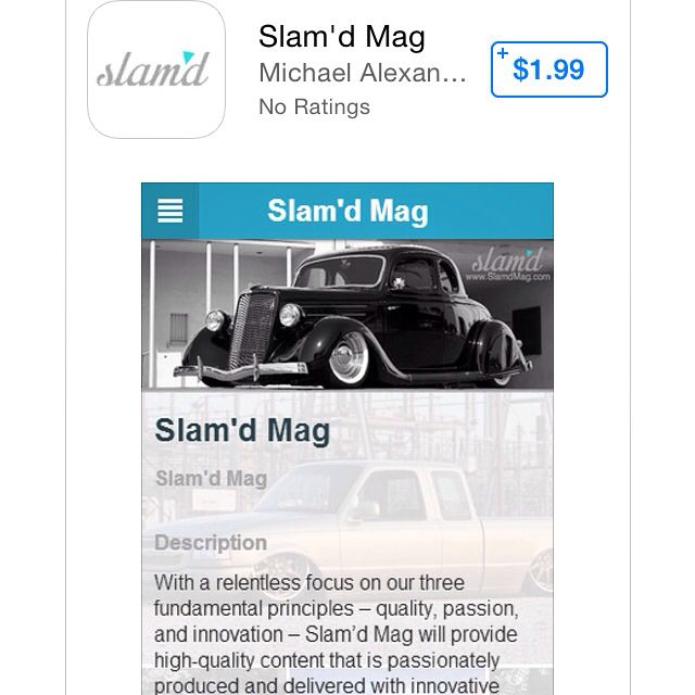 Slam'd Mobile App now available on iPhone and Android
