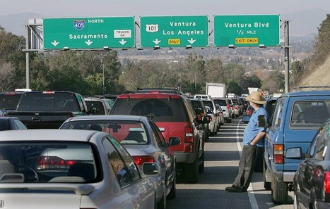 Travel Tip Tuesday.- - Avoid the 405: This freeway seems to be perpetually gridlocked, especially between US 101 and Long Beach, and you can get in a traffic jam on it anytime.