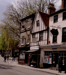 15th Century Tombland Bookshop in Norwich: The prettiest little bookshop in the known universe.
