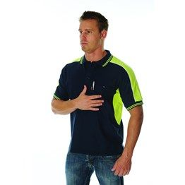 220gsm Polyester Cotton Panel Polo Shirt, S/S. http://catalogue.davarni.com.au/Products/Search/?textSearch=polo+shirt
