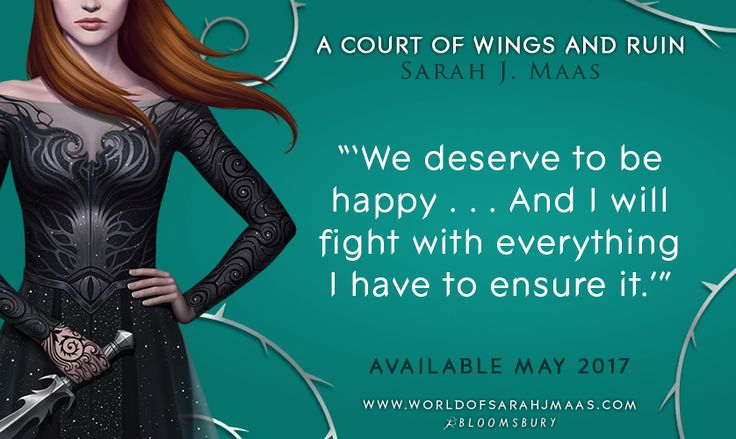 We deserve to be happy. Preorder your copy of ACOWAR here for happy swag!