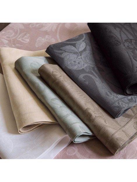 Las 25 mejores ideas sobre servilletas de lino en - Manteles de lino ...