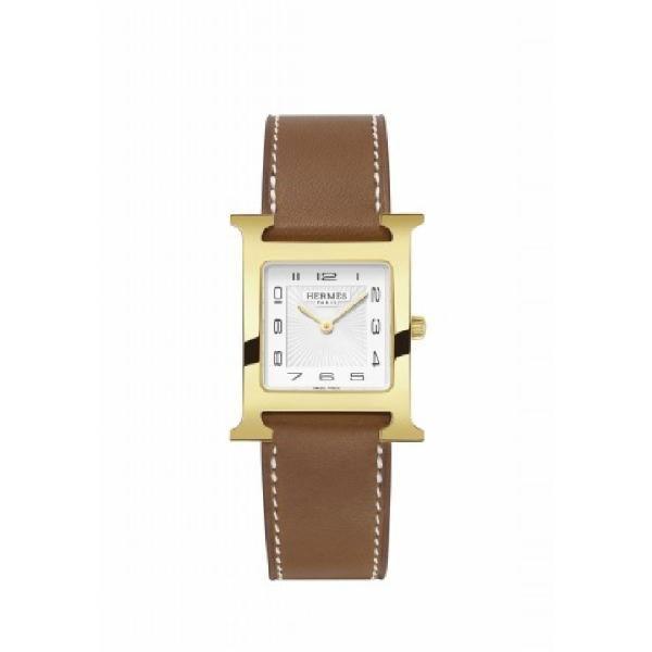 #Reloj #Hermes HORA H MM #watch #leather #gold #classic #elegant #joyeriabarcelona