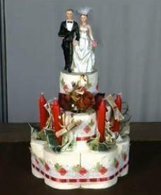 Wedding Money Toiletpaper Cake - Geldtorte aus Klorollen zur Hochzeit - Videotutorial