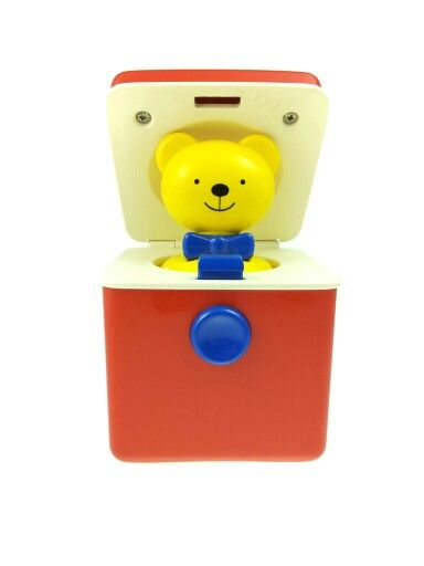 ♡ Vintage Bear in the box Ambi Toys 1994