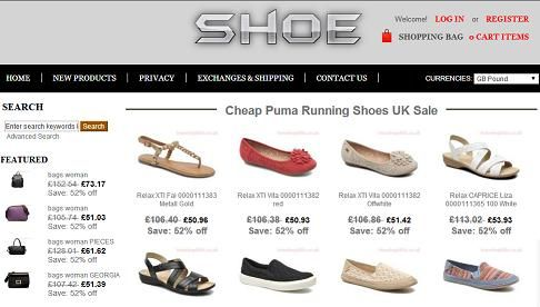 """""""www.travelrepiblic.co .uk"""" - Fraudulent Shoe Selling Website: The website: """"www.travelrepiblic.co .uk,"""" is a fake shoe selling website. The fake and fraudulent website, disguised as an e-commerce website selling shoes for men, women and children, was created by cyber-criminals to steal their victims' credit card and personal information, which they (cyber-criminals) will use fraudulently. Please do not be fooled by the fake """"Hacker Safe"""" or """"VeriSign Secured&quo..."""