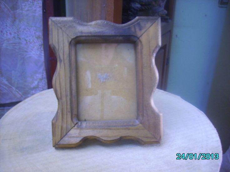 M s de 1000 ideas sobre portaretratos en madera en - Manualidades cajas madera ...