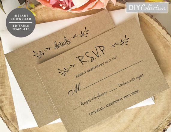 The 123 best Rustic Wedding images on Pinterest Card templates