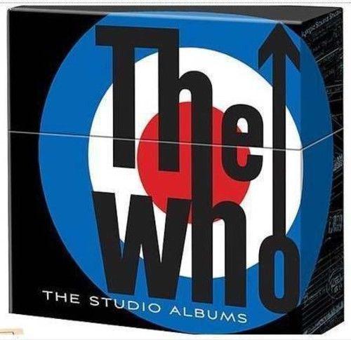 Who Studio Albums Box Set Vinyl New Vinyl Albums Studio Studio Album Boxset Album