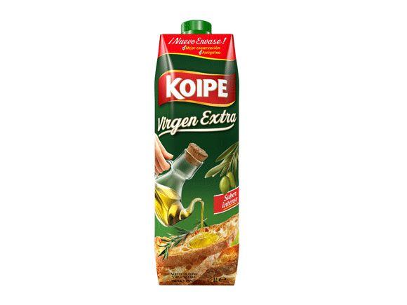 Aceite de oliva en tetra brik, la nueva apuesta de Koipe - Ver más en http://www.infopack.es/contenido.php?idcon=440