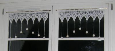 """Curtains Islands in art hook ... Datasheets - Curtains """"lace"""" inspired Breton Islands."""
