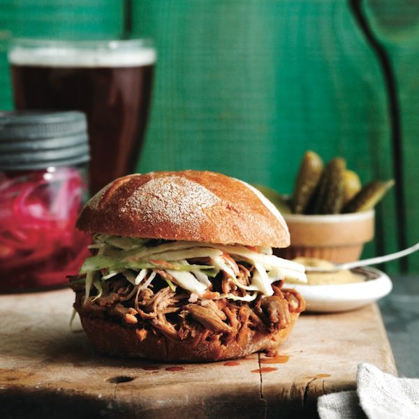 Pulled pork with ginger-bourbon sauce recipe - Chatelaine.com