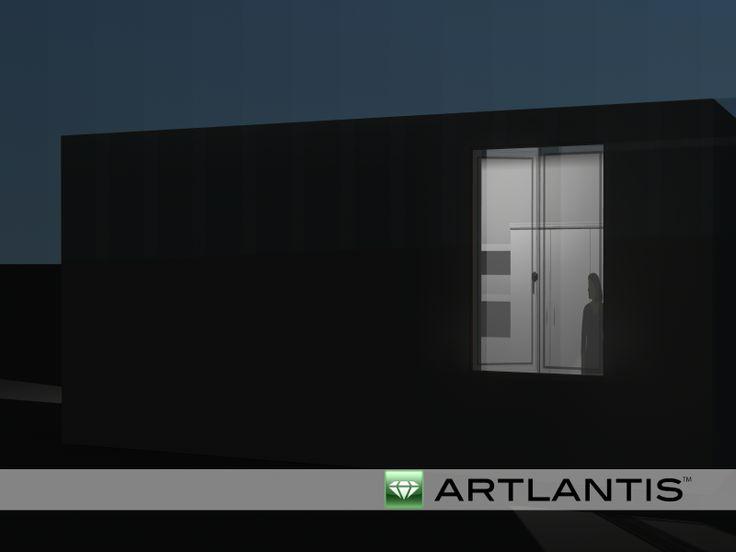 artlantis vista notte 2