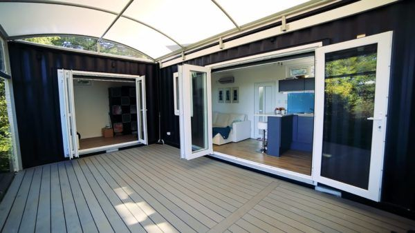 Womans Solar 484 Sq Ft Shipping Container Home ~VIDEO~ https://www.youtube.com/watch?v=slsJmN2AdXY