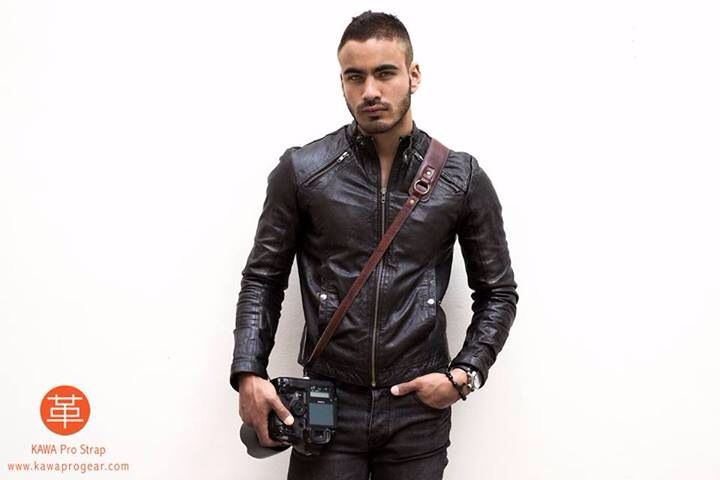 KAWA PRO STRAP LUX BROWN | Men's Fashion - Leather Jacket | Vintage | Leather Camera Strap | Genuine Leather | Handmade | built for comfort, style, and durability - www.kawaprogear.com