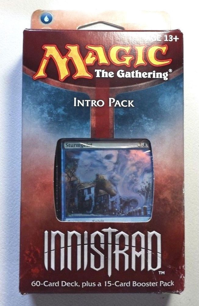 * Innistrad MTG Carnival of Blood Intro Deck New Sealed w// Booster Pack
