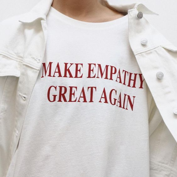 MAKE EMPATHY Great Again ladies t-shirt by GR8APPAREL on Etsy