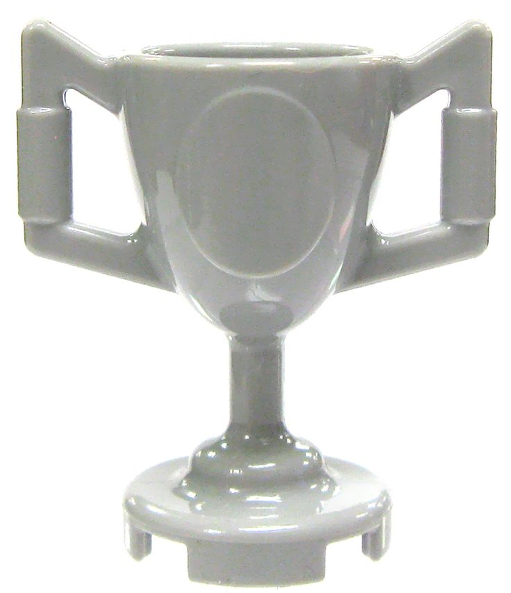 LEGO City Items Light Gray Large Trophy Cup [Loose]