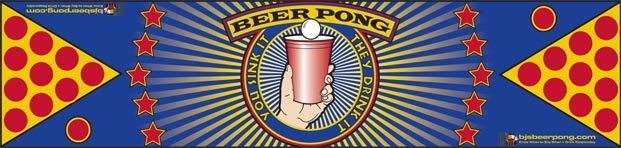 Sink It Star   Pro Table $129.95  Beer Pong Table  http://megabeerpong.com/bjs-beer-pong