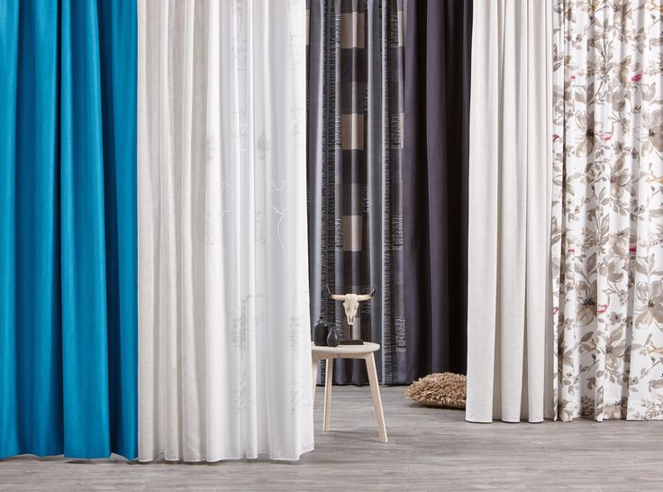 Rust in huis met verduisterende gordijnen in koele tinten #gordijnen #raamdecoratie #kwantum #wonen #interieur
