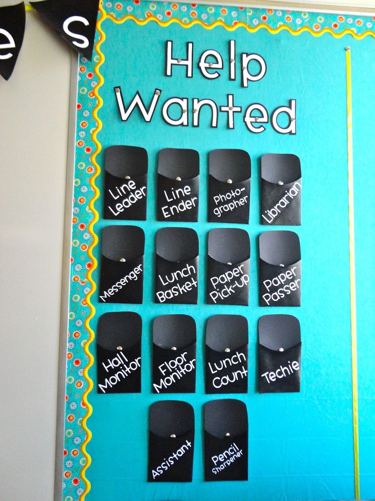 Classroom Job Ideas Elementary ~ Best ideas about classroom job chart on pinterest