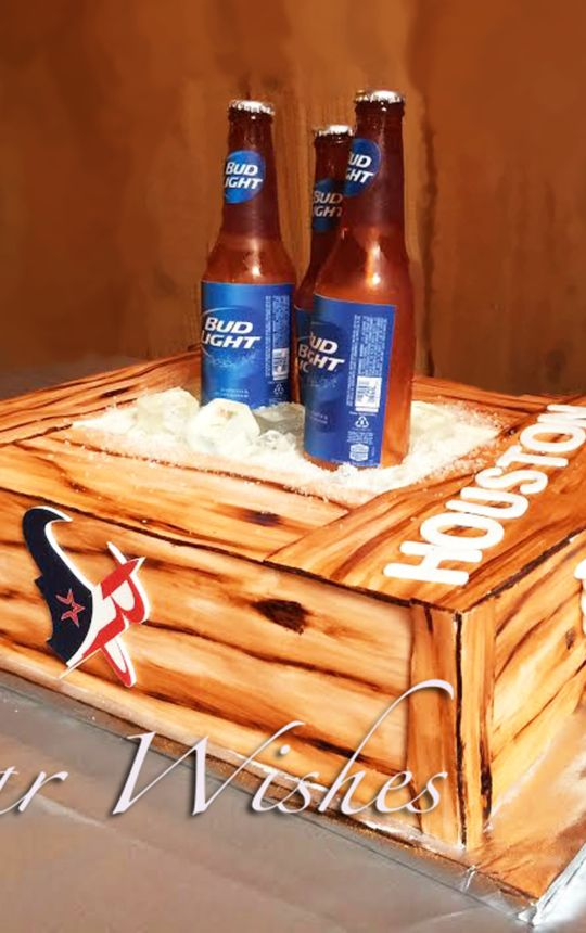 Bud Light sugar bottles Houston Texas teams
