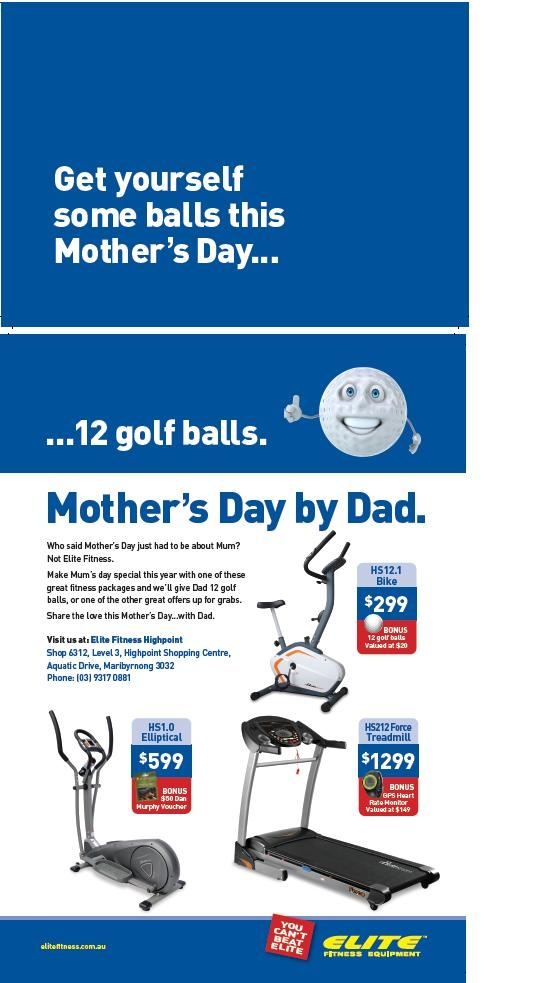 Mother's Day 2013 Elite Fitness Equipment Mother's Day Gift Ideas For Mum From Dad