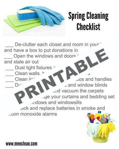 The 25+ best Spring cleaning checklist ideas on Pinterest Spring - sample spring cleaning checklist