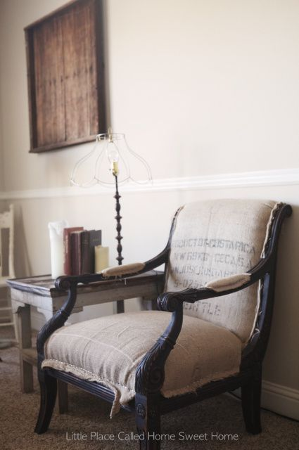 Cost To Reupholster Wingback Chair chair burlap sacks upholstered chair recover wingback reupholster ...