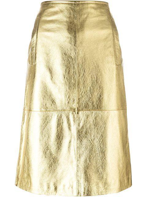 Achetez L'Autre Chose jupe crayon métallisée en Bagheera from the world's best independent boutiques at farfetch.com. Découvrez 400 boutiques à la même adresse.