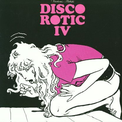 "Milo Manara 2006 Various Artists - Disco Rotic IV (12"") [Disco Rotic EDLP04] #albumcover #comics"