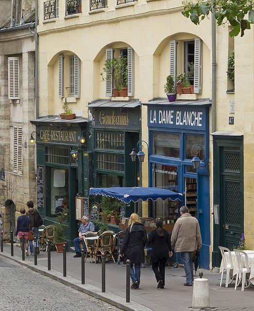 Quartier Latin, Rue de la Montagne