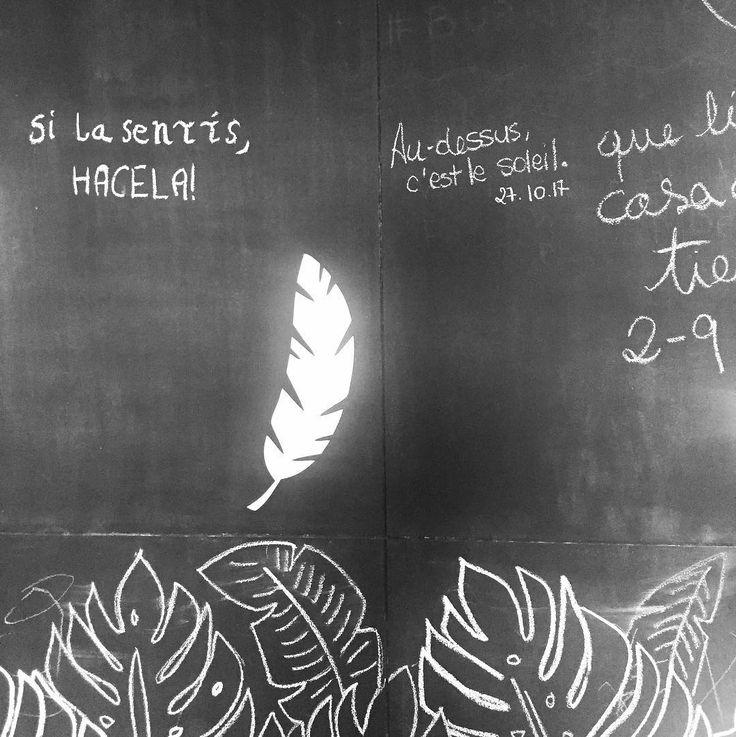 Paredes que hablan y dicen cosas lindas  @olgacamp.oficial @manondelcampo #silasentishacela vamooo con el hashtag     #deco #decoracion #pizarra #pizarron #monsteraleaf #monstera #enjoy #kitchen #micasa #myhome #myhouse #leaf #blackboard #micocina #picoftheday #style #interior #interiors #interiores #homedesign #interiordesign #diseño #diseñodeinteriores #graphicdesign #diseñografico #soleil #audessus #audessuscestlesoleil#apykahome @apykastore