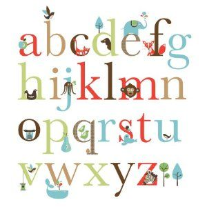 Skip Hop ABC Alphabet Wall Stickers:Amazon:Baby