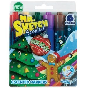 Hint for Louella Mr. Sketch Scented Holiday Markers (6 Markers) Mr. Sketch http://www.amazon.com/dp/B00RPXPUSC/ref=cm_sw_r_pi_dp_65oXvb1J2BV9V