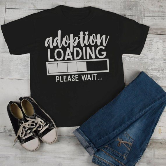 Adoption Love Toddler T-Shirt Short Sleeve Tee