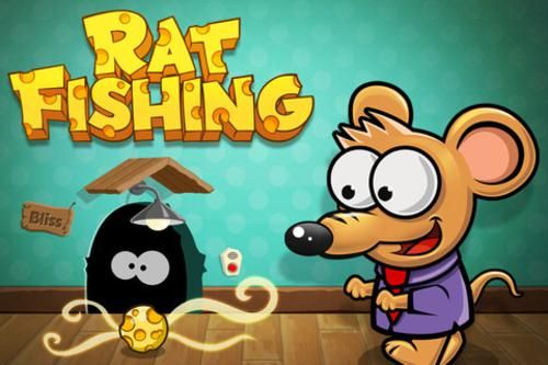 FREE iOS game: Rat Fishing Blitz