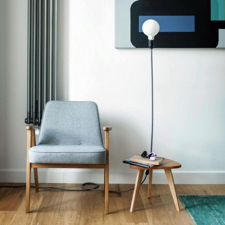 Fotel 366 (proj.: Zygmunt Chierowski, reedycja: 366 Concept)