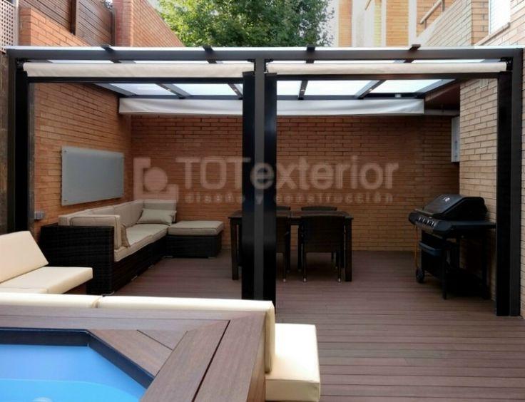 Proyectos dise o terrazas barcelona totexterior for Diseno techos para terrazas