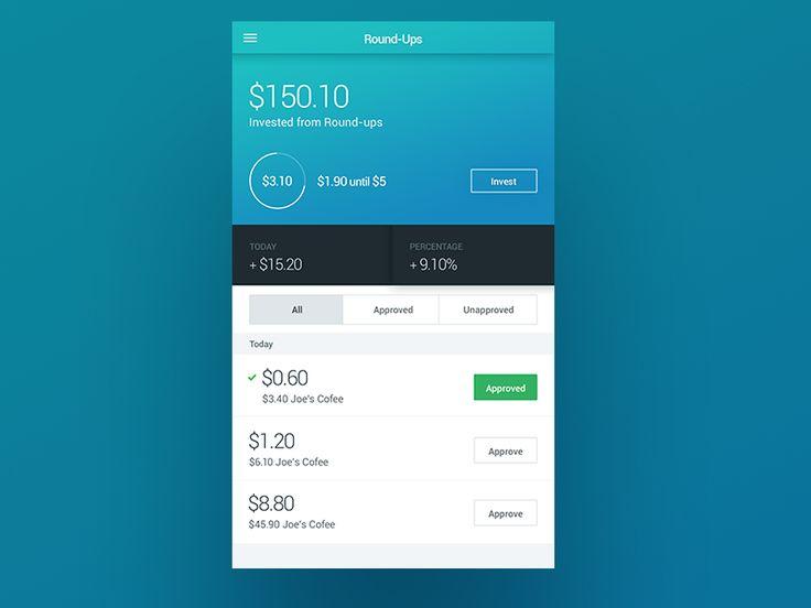 financial app by Daneel