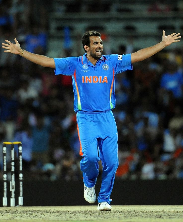 India were struggling against West Indies. They had collapsed during the batting Powerplay again and set a target of only 269. West Indies were cruising at 154 for 2 when Zaheer Khan produced a slower ball that bowled Devon Smith. India eventually won by 80 runs.  #WorldCup2011 #Cricket