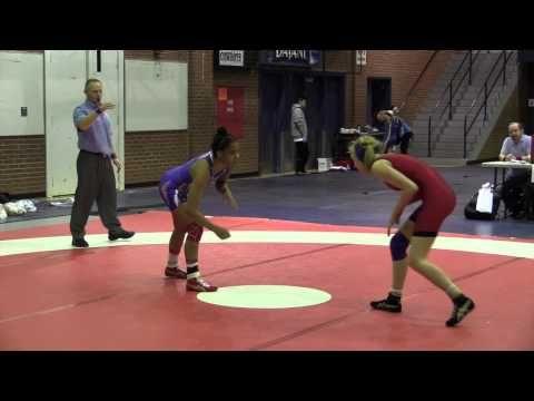 2015 Stu Hart Duals: 55 kg Faye Tuck (BC) vs. Maya Nelson (USA)