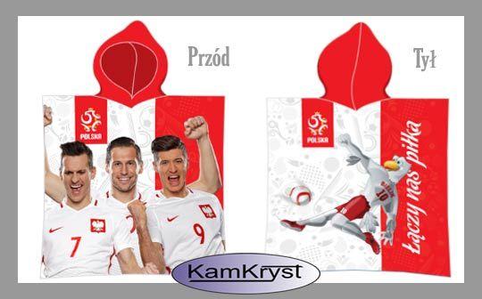Dla najmłodszych kibiców naszej Reprezentacji Polski - dziecięce ponczo bawełniane