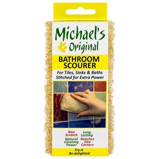 Naturlig badrumsskrubb som är tillverkad av tre lager luffa som har handsytts ihop för att ge mer skrubbstyrka. Utformad för att rengöra stora ytor som t.ex. diskhoar och kakel.